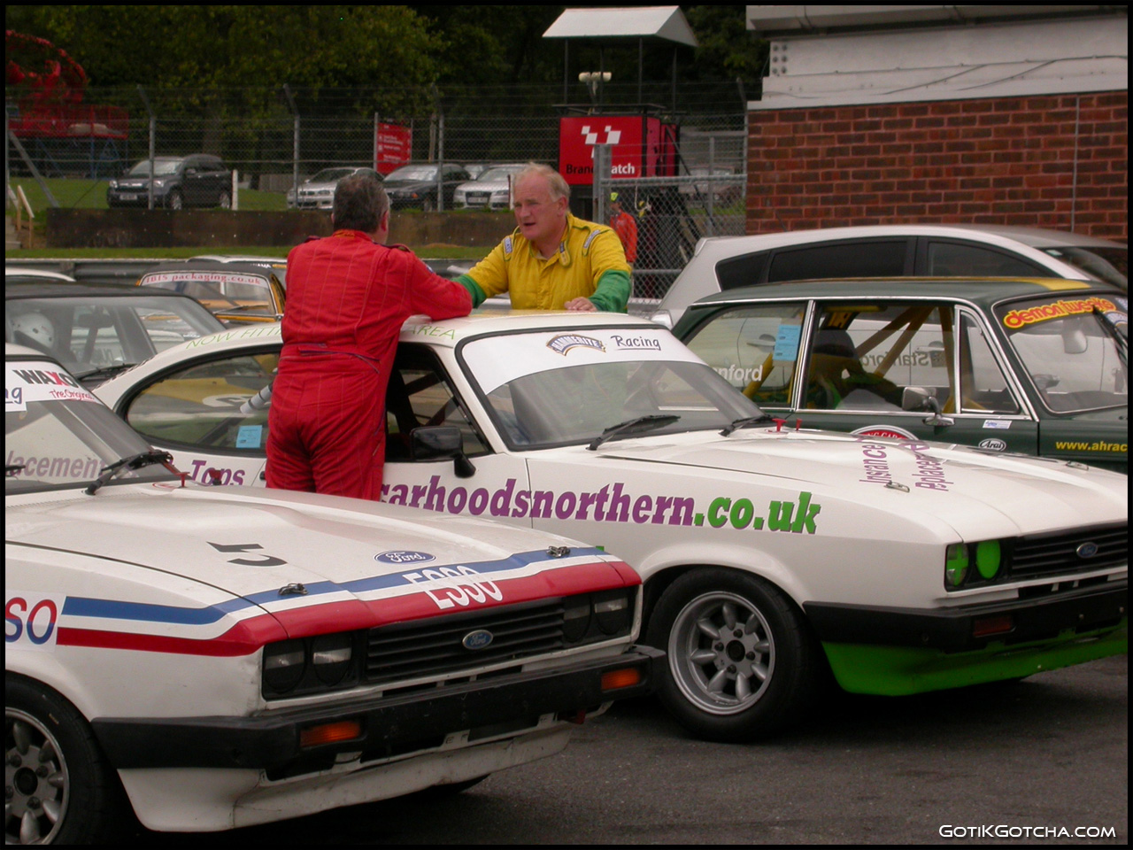 Classic Car Racing Brands Hatch